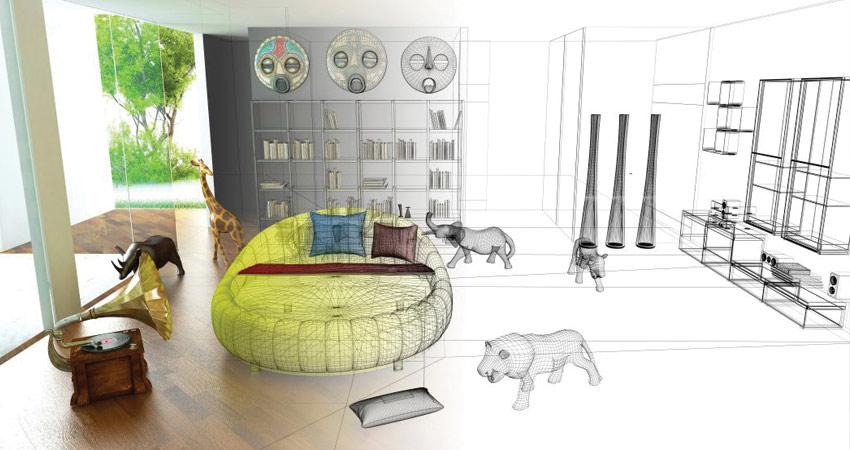 معماری داخلی به چه معناست؟